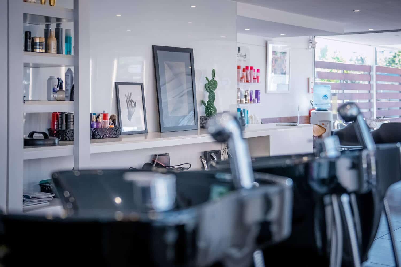 Le salon de coiffure Avant Garde à Nouméa